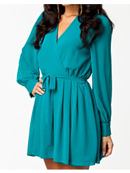 The Style Chiffon Sleeve Dress