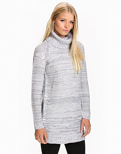 VIBLEND KNIT ROLLNECK TUNIC (2047567385)