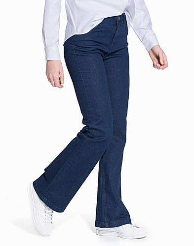 SFANNIE MR FLARED JEANS DARK BLUE (2091776663)