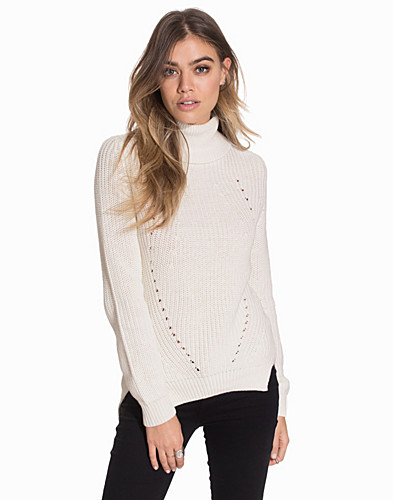 NMSIA LS ROLL NECK KNIT TOP (2091776717)