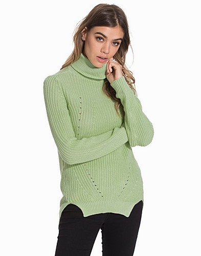 NMSIA LS ROLL NECK KNIT TOP (2091776715)