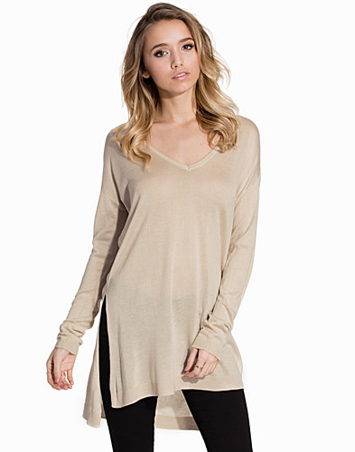 VMSUNSET LS SLIT LONG BLOUSE (2143963667)
