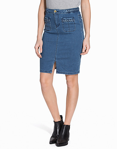 VMBRAIDE HW DENIM AB KNEE PENCIL S (2128389595)