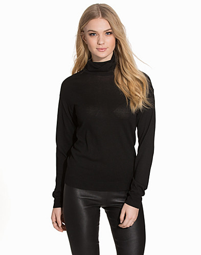 NMBECCA LS ROLL NECK KNIT TOP (2111007257)