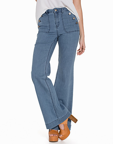 onlLEA HIGHW DNM FLARED JEANS CRE (2157033059)