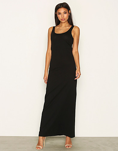 onlABBIE SL LONG TANK O NECK DRESS (2162541717)