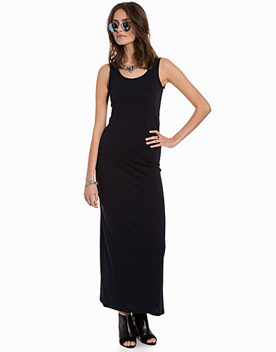 onlABBIE SL LONG TANK O NECK DRESS (2165882545)