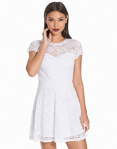 VMCELEB CAPSLEEVE LACE MINI DRESS (2220708719)