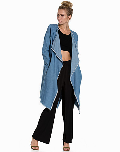 FITRUCKER DENIM TRENCHCOAT (2281613515)