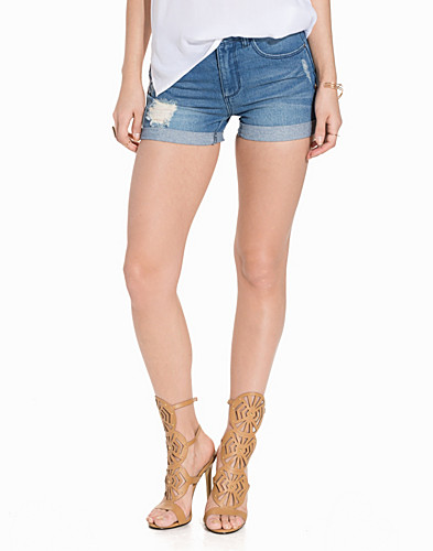 JDYJANET DESTROY DENIM SHORTS LIGHT (2176331473)