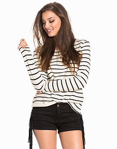 JDYSORRENTO LS CROP STRIPE SWEAT (2177821993)