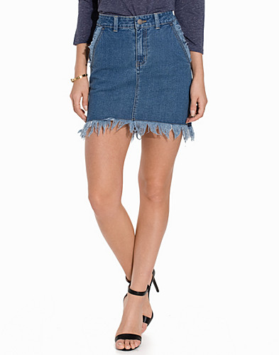 FIFOME DENIM SKIRT (2178740625)