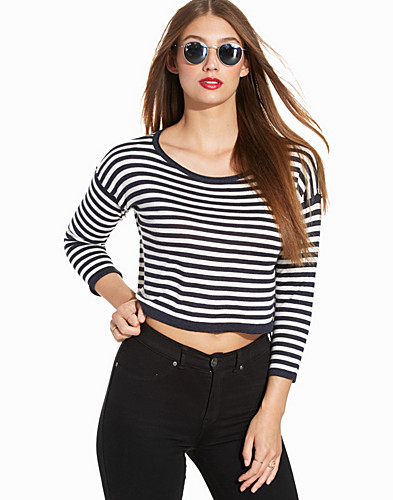 onlFRANCIS STRIPED 78 PULLOVER KNT (2227596529)