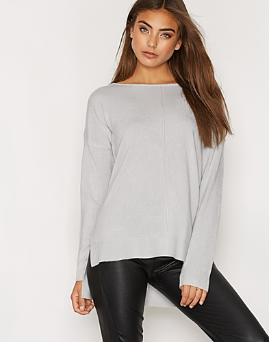NMCHEN LS BOATNECK KNIT TOP N (2279982485)