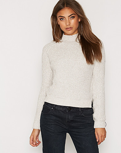 NMSIESTA LS HIGH NECK CROPPED KNIT (2279982503)