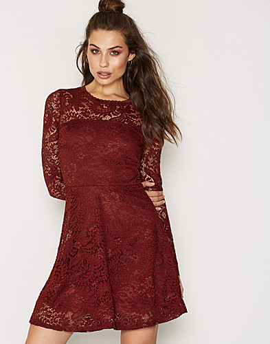 VMCELEB LS LACE SHORT DRESS NOOS (2263512473)