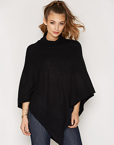PCRIKKI ROLL NECK WOOL PONCHO (2286838993)