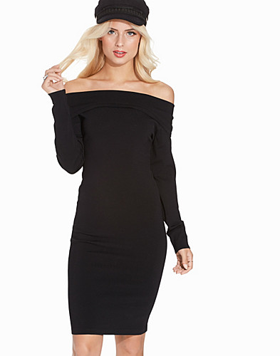 SFMATHILDE OFF SHOULDER KNIT DRESS (2269449217)