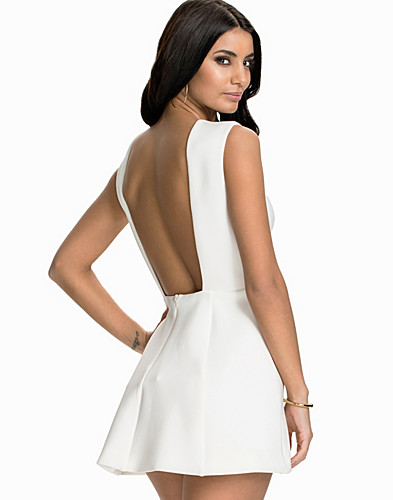 Bare Back Structure Dress (1957048245)