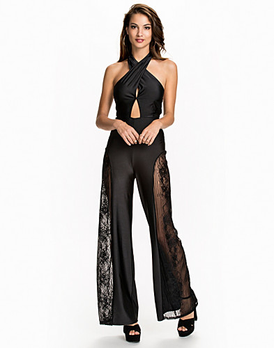 Cross Halter Jumpsuit (2008706151)