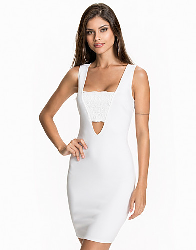Strap Lace Trim Dress (2010776851)