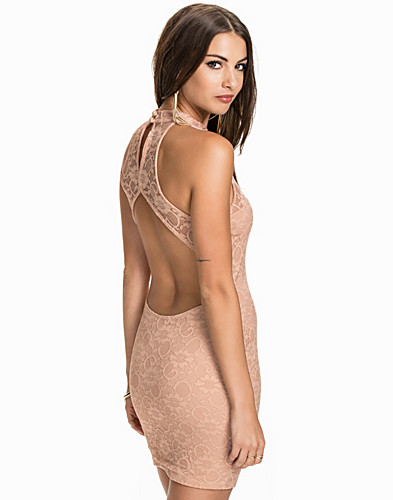 Open Back High Neck Dress (2008709969)