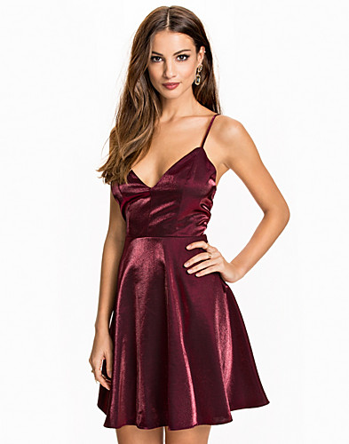 Cocktail Satin Dress (2074360601)