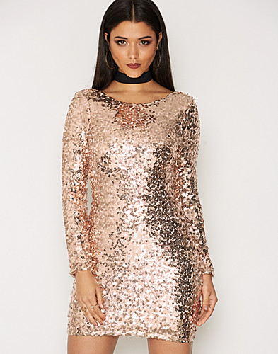 NLY One - Scoop Back Sequin Dress