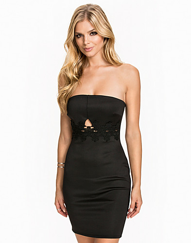 Bandeau Lace Detail Dress (2039951167)
