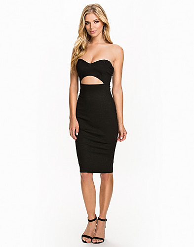 Cut Out Midi Dress (2039950887)