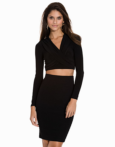 Cross Over Ruched Top (2069146487)