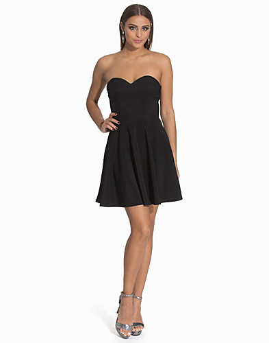 Bandeau Flare Dress (2113603529)