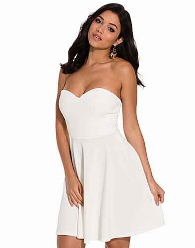 Bandeau Flare Dress (2134098515)