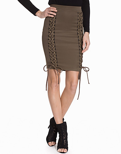 Lace Up Skirt (2096494649)