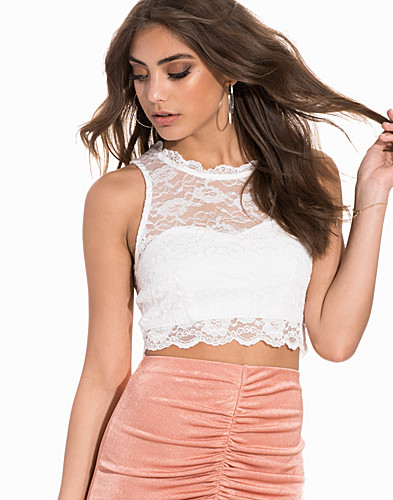 Sportscut Lace Crop Top (2183901247)