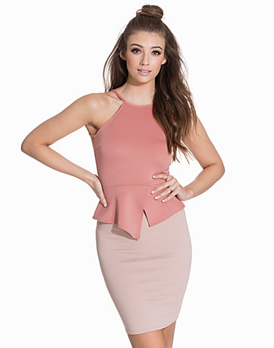 Asymmetric Peplum Top (2119292967)