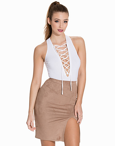 Rib Lace Up Body (2148993189)