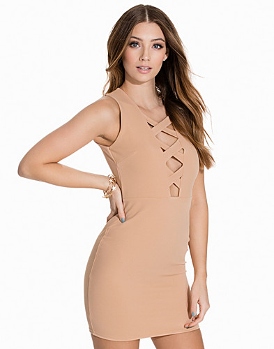 Cross Up Bodycon (2143963633)
