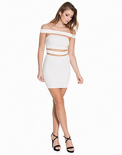 Off Shoulder Slash Dress (2148390403)