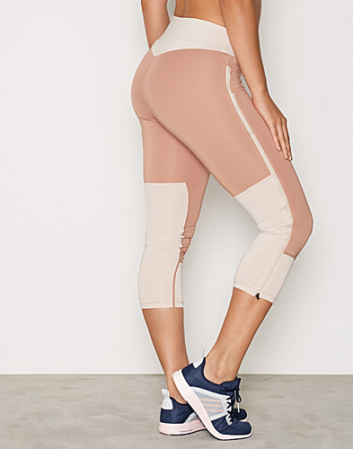 Long Zip Crop Tights (2291646983)