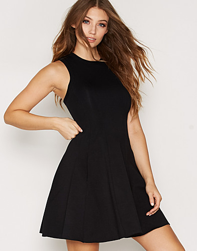 Double Knit Pleated Tank Dress (2286838895)