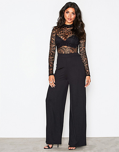 Lace Top Jumpsuit (2299154109)