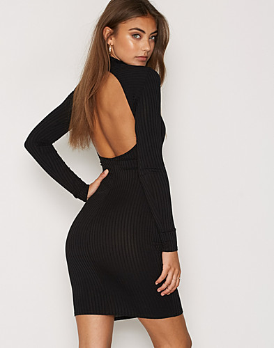 Bare Back Rib Dress (2286838903)