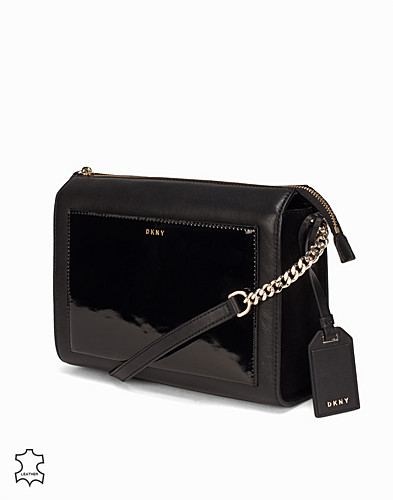 Patent Leather Medium Box Crossbody (2300131809)