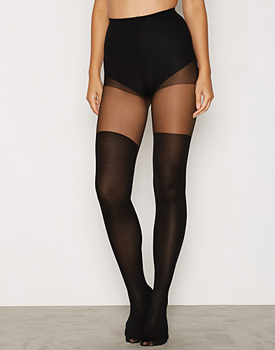 Plain Over The Knee Tights (2298385313)