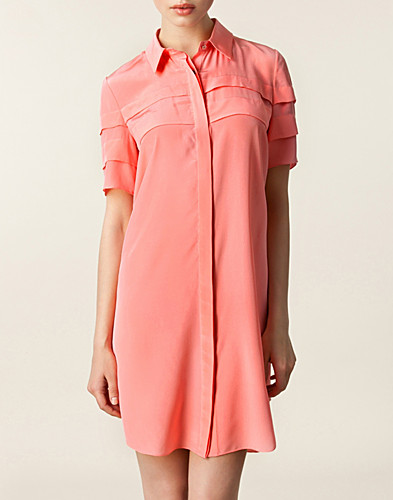 Tasmine Silk Shirt Dress