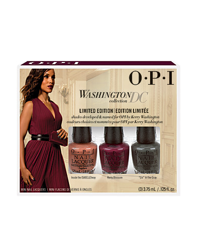 OPI Mini Nagellack Washington DC LIMITED EDITION 3pc