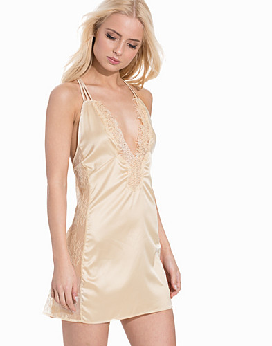 Luxury Satin Night Dress (2163310529)