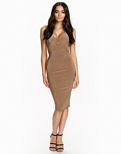 Cami Strap Slinky Mini Dress (2011407069)