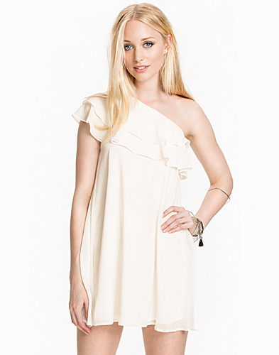 One Shoulder Frill Detail Dress (1973023815)